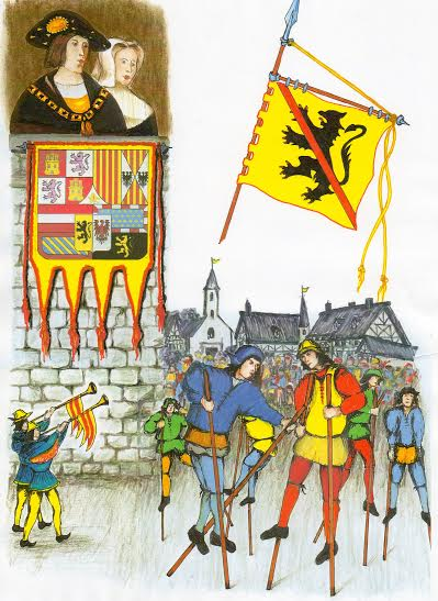 Young Charles the Fifth's in Namur in 1515